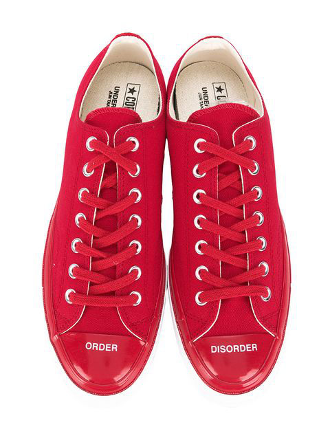 Converse X Undercover Chuck 70 Sneakers In Racing Red