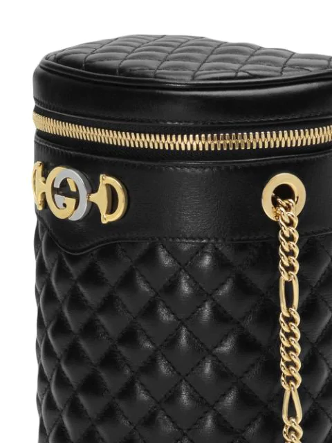 19161a6b Trapuntata Quilted-Leather Belt Bag in 1000 Black