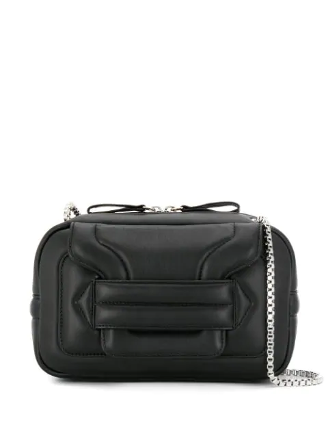 Pierre Hardy Chain Shoulder Bag Black