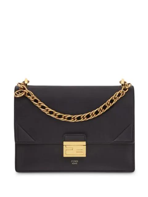 Fendi 3 Baguette Bag Black Gold in schwarz | fashionette