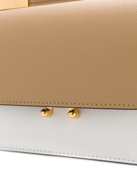 Marni Trunk Crossbody Bag - Neutrals