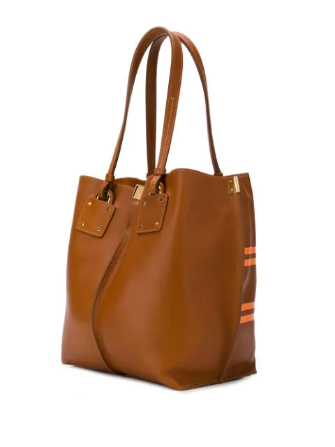 efe3608e69 Medium Vick Logo Tote in Brown