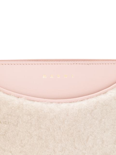 Marni Contrast Panel Cross Body Bag - Pink