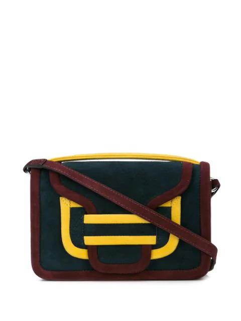 Alpha Shoulder Bag In Blue