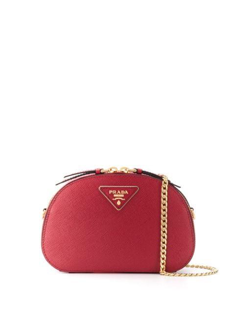 3e5a52caff9 Prada Logo Plaque Belt Bag - Rot in Red