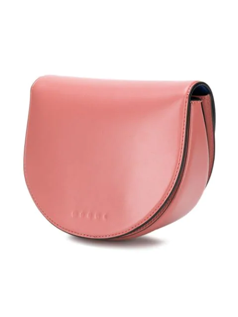 Marni Monile Crossbody Bag In Pink