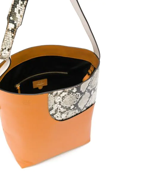 Atp Atelier Pienza Bucket Shouder Bag - Brown