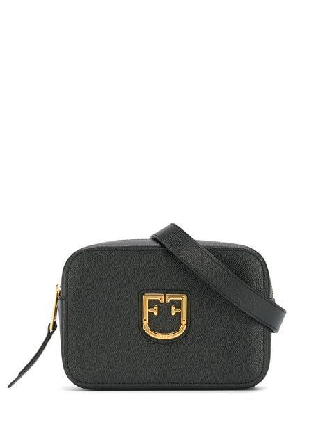 da34bdd3490 Furla Logo Plaque Belt Bag - Black