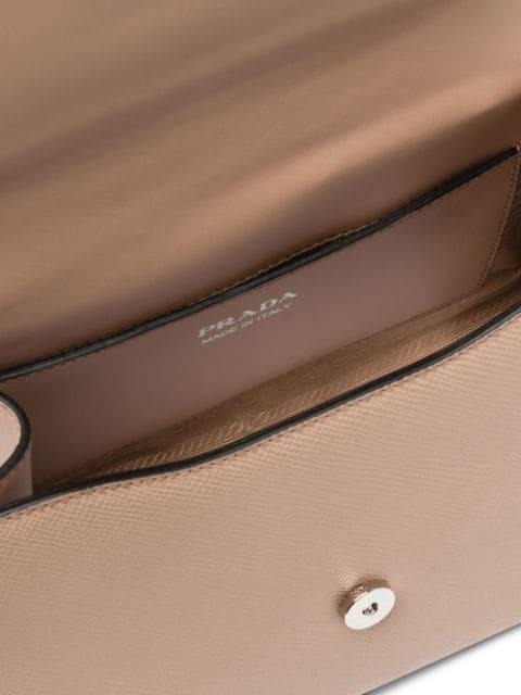 PRADA Prada Monochrome Saffiano leather bag