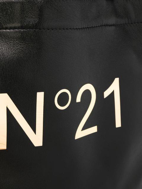N°21 Nº21 'Nº21' SHOPPER - SCHWARZ