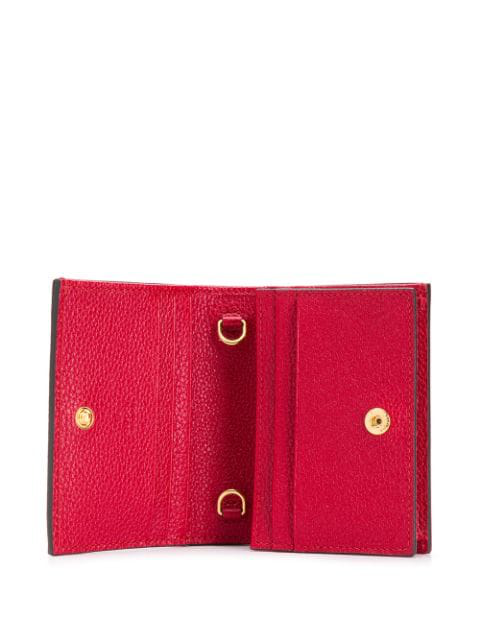 Gucci Portemonnaie Mit Horsebit - Rot In Red
