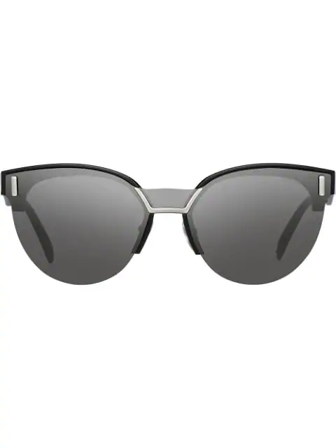 94070b36a1 Prada Eyewear Prada Hide Sunglasses - Black