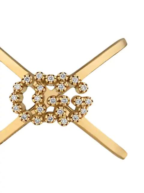 Gucci Running Gg 18K Yellow Gold Ring