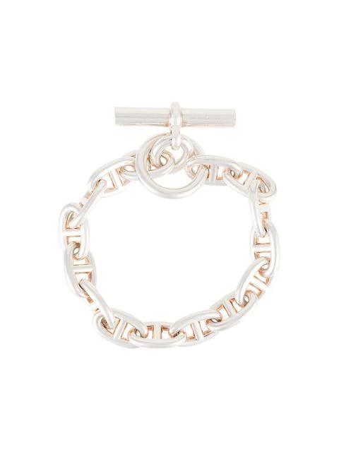 Hermès Pre Owned Chaine D Ancre Silver Bracelet