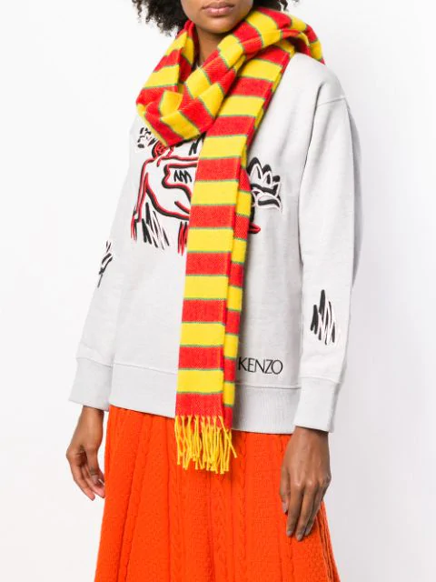 KENZO KNITTED SCARF