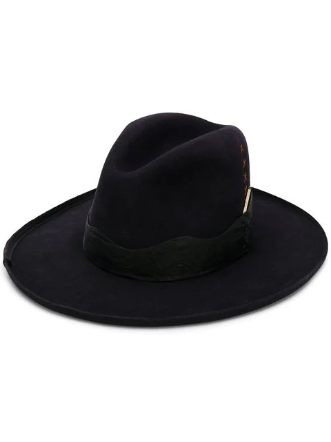 Nick Fouquet Cactus Hat - Black In Black Cherry