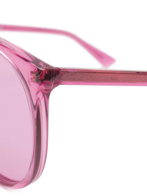 GUCCI OVERSIZED ROUNDED SUNGLASSES,GG0261SA12716819