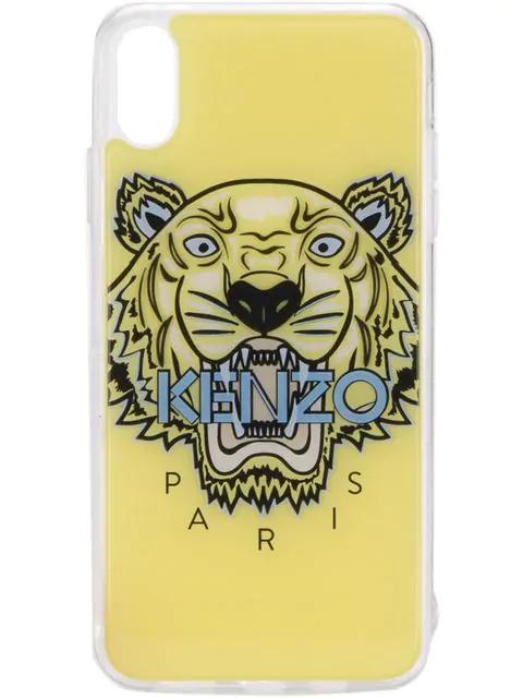 d098a8cc Kenzo Logo Iphone X Case - Yellow
