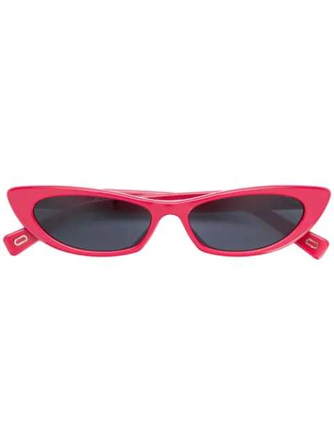 c99e91add16c Marc Jacobs Women's Slim Cat Eye Sunglasses, 52Mm In Red | ModeSens