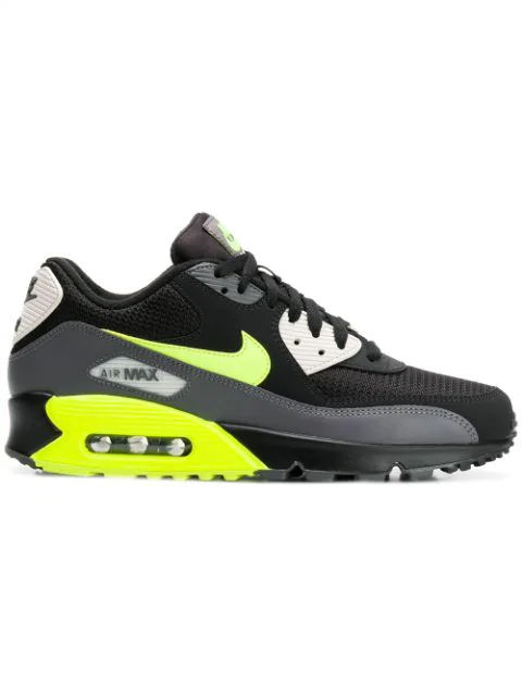 6c9b4480101b7 Men's Air Max 90 Essential Low-Top Sneakers in Black