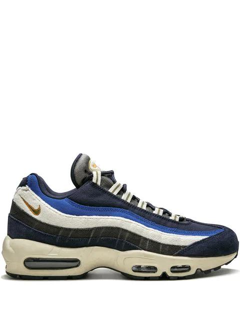 info for 8e187 68f06 Air Max 95 Premium Sneakers in Black