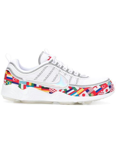 magasin en ligne 5e804 2d78a Air Max 90 Air Zoom Spiridon International Flag Sneakers in White
