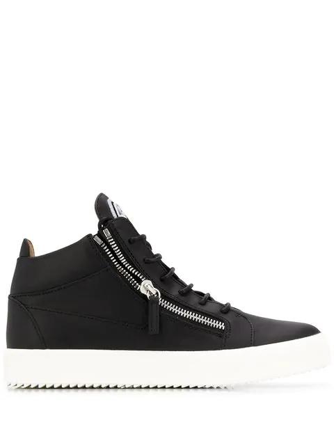 'kriss' Black Sneakers In Giuseppe Zanotti Schwarz xedCBo