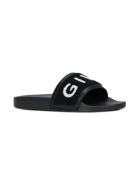 Givenchy Beach Sandals 3001H0Bg In Black