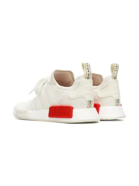 Adidas Originals Adidas Men's Nmd R1 Casual Sneakers From Finish Line In White