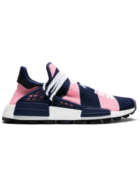 Adidas X Pharrell Wililams X Bbc Nmd Hu Trail Sneakers in Pink