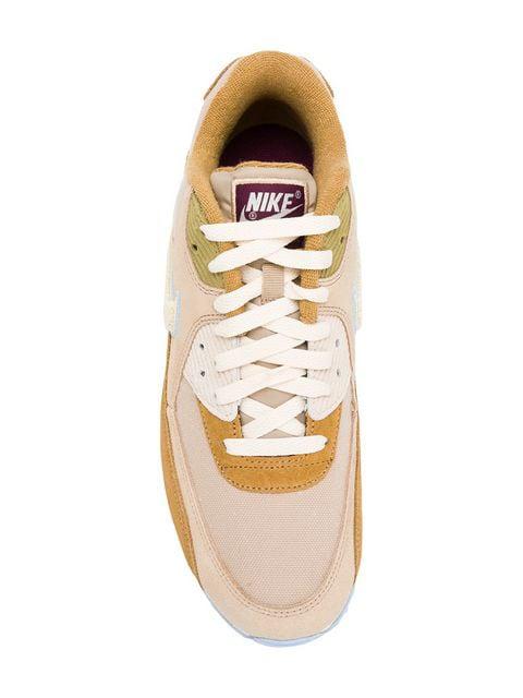 Nike Air Max 90 Premium Sneakers Muted Bronze Licht Cream