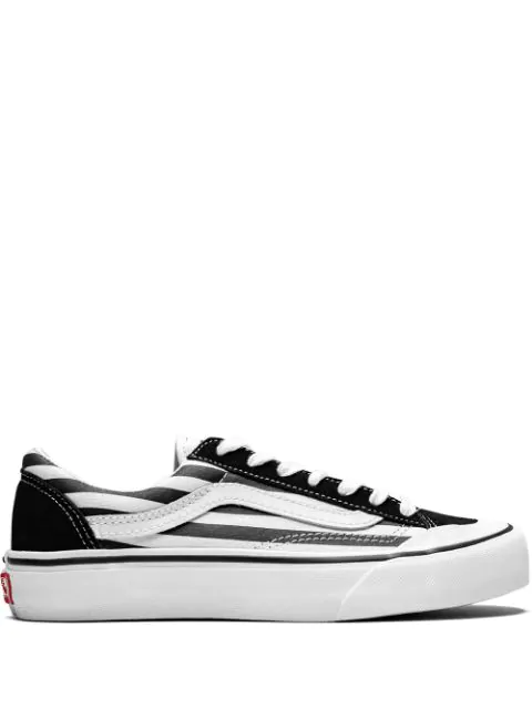 comfortable feel purchase genuine more photos Vans Flame Style 36 Sf Sneakers - Black