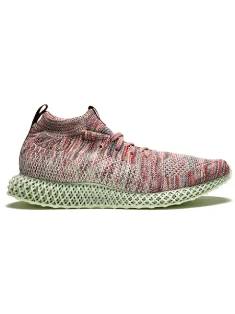 100% authentic 7bc81 caf99 X Kith 'Consortium 4D' Sneakers in Red