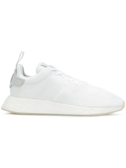 newest collection c0624 37ac8 Adidas Men's Nmd R2 Casual Sneakers From Finish Line in White