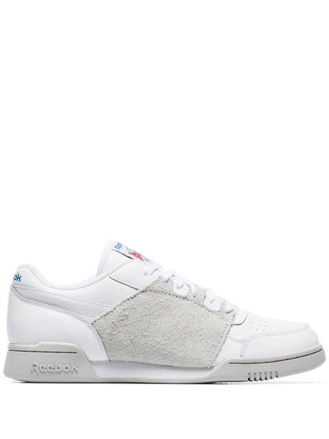lovely design genuine distinctive design Reebok Classics White Nepenthes Edition Workout Plus Sneakers