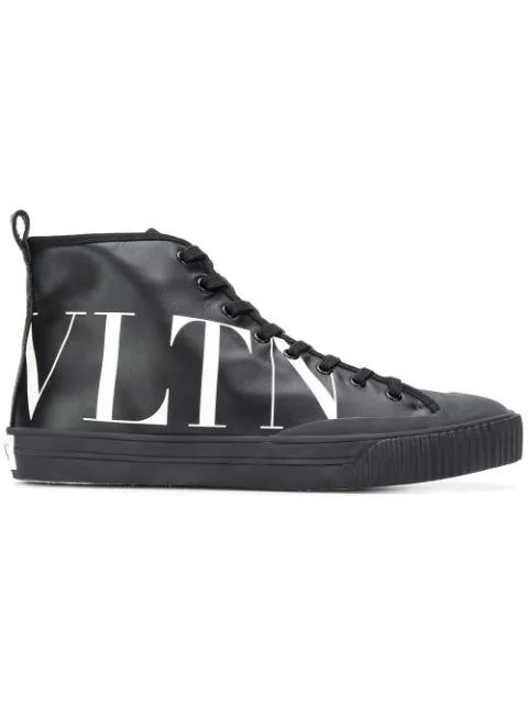 top High Vltn sneakersSchwarz Valentino pGqMLVSUz