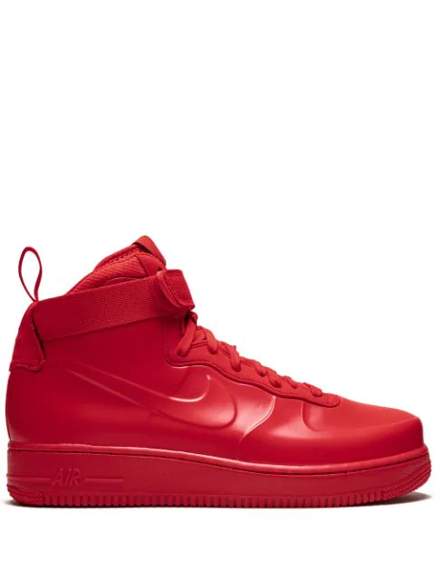 timeless design 3f8af 23107 Air Force 1 Foamposite Sneakers in Red