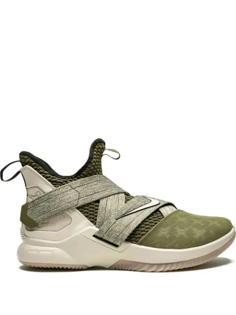 new style cb341 3df02 Lebron Soldier 12 Sneakers in Green