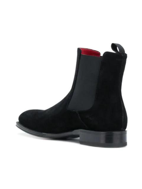 Alexander Mcqueen Goodyear Chelsea Boot In 1000 Black