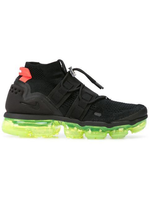 the best attitude 2de6d c48b8 Men's Air Vapormax Flyknit Utility Running Shoes, Black