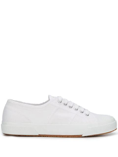 am besten online rationelle Konstruktion Vorschau von Superga Sneakers Mit Schnürung - Weiß in White