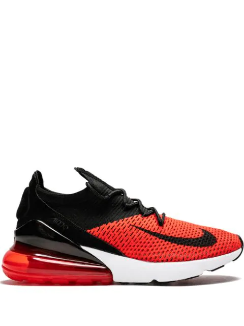 best service d6110 518d8 Air Max 270 Flyknit Sneakers in Black
