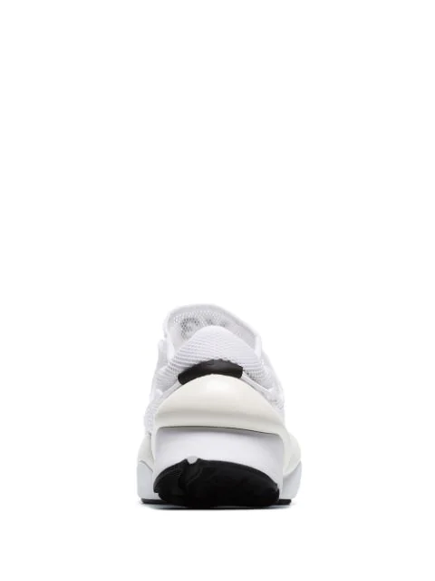 Y-3 White Kaiwa Pod Mesh Low Top Sneakers