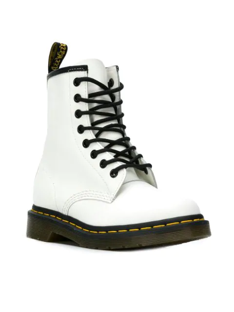 discover latest trends new season great quality Dr Martens 1460 Smooth Lace-Up Boots in White