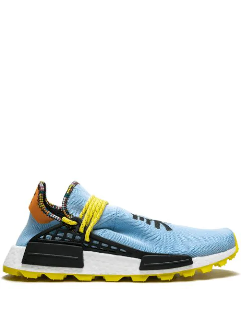 sale retailer d00e3 719f3 Adidas Adidas X Pharrell Williams 'Solar Hu Nmd' Sneakers - Blau in Blue