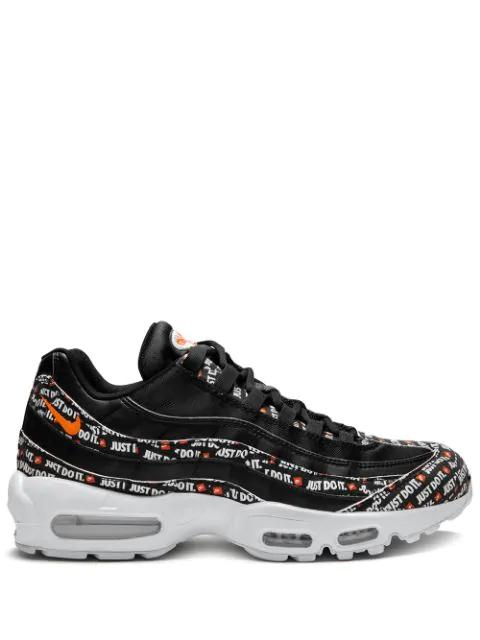 sports shoes ef30d b46c0 Air Max 95 Se Sneakers in Black/Black-White-Total Orange