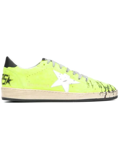 22fcf7681bd Golden Goose Deluxe Brand Ball Star Sneakers In Yellow | ModeSens