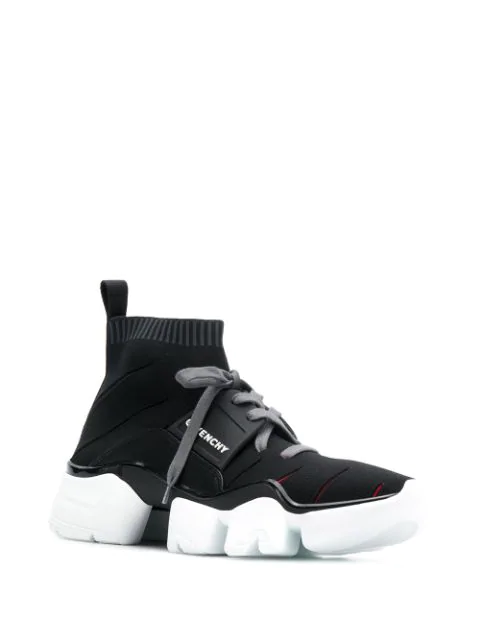 GIVENCHY SOCK-SNEAKERS MIT SCHNÜRUNG