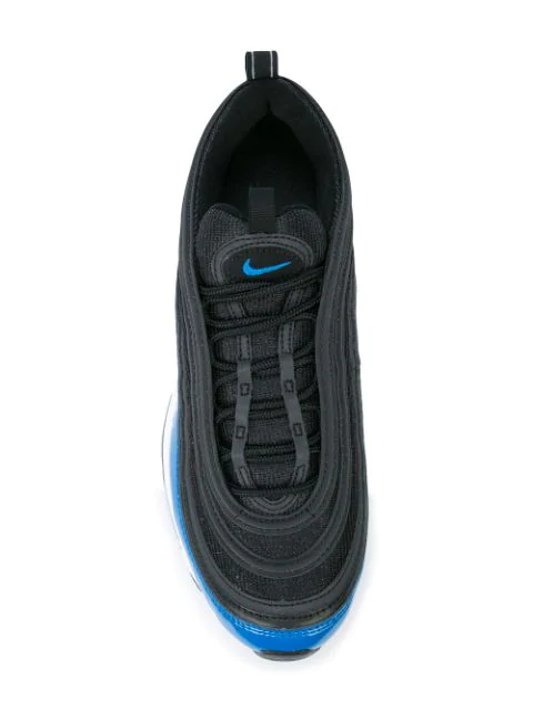 Men's Air Max 97 Casual Shoes, GreyBlue in Black