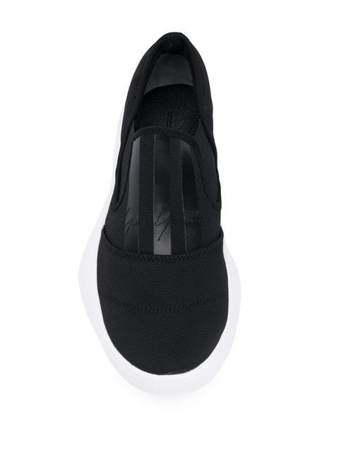 Y-3 Y-3 TANGUTSU SLIP-ON SNEAKERS - BLACK